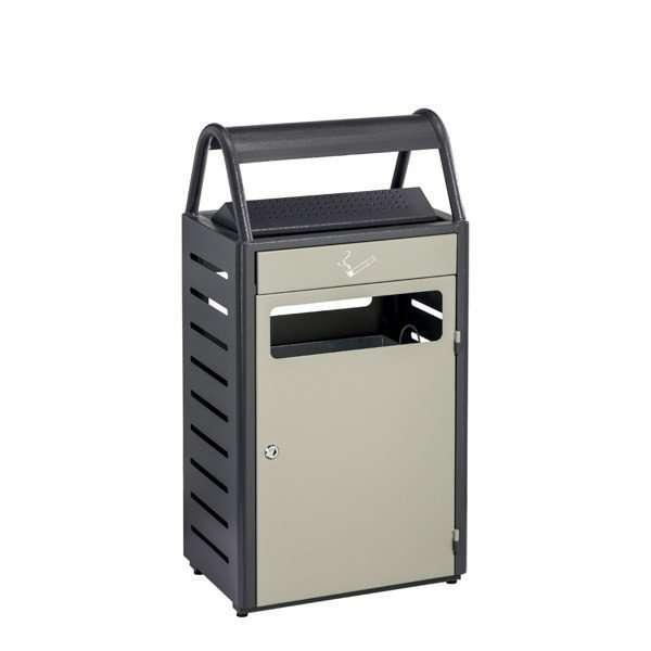 Cendrier corbeille d'extérieur 58 litres