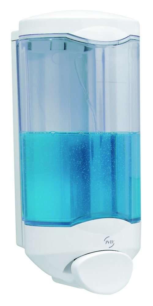 distributeur gel et savon jvd crystal 1000 ml