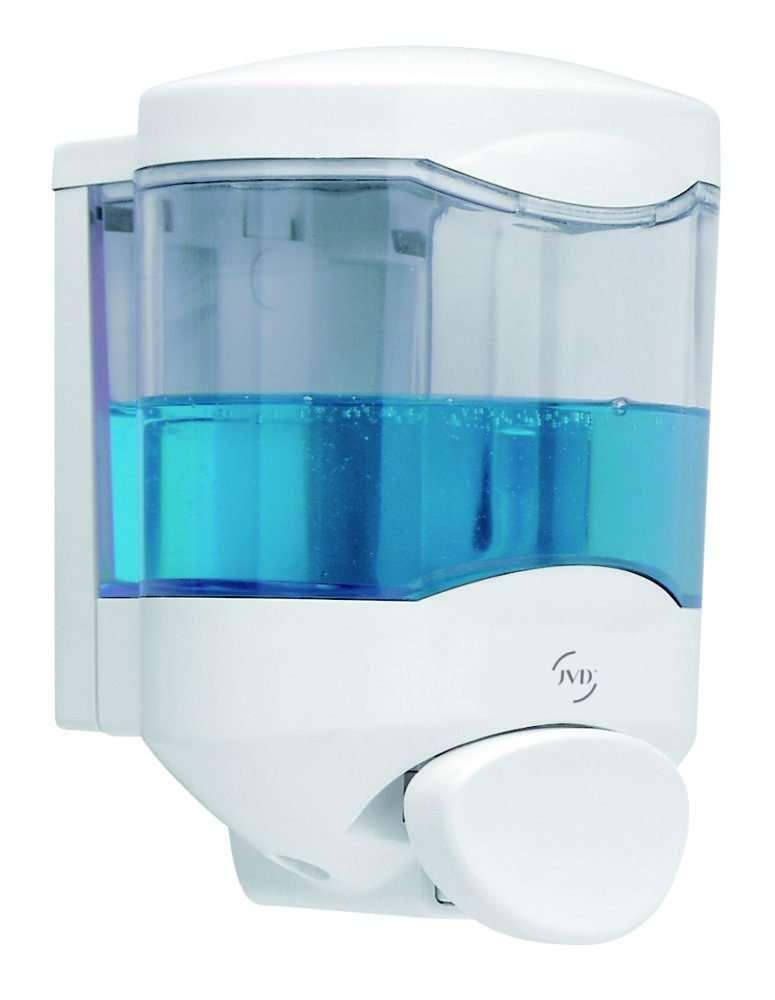 distributeur savon et gel hydroalcoolique jvd crystal 450 ml