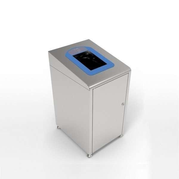 Borne à déchets modulaire Koala bleue 60 litres